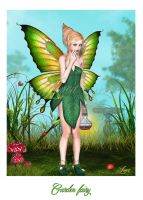 Garden fairy by Loveit