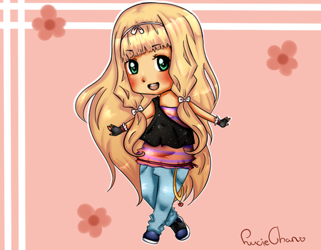 New Oc Yoko Chan by Lucie-Chan