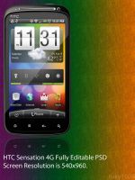 HTC Sensation 4G .PSD by ruky1024