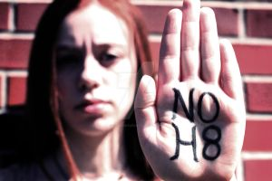 NO H8 by purplesplee