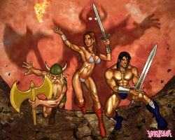 Golden Axe by Veracause