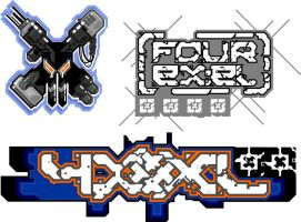 FourXL Logos by Synthaesthetic