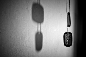 Hanging Dog Tags by Laurence-CE