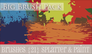 Big Brush Pack by crystalcleargfx