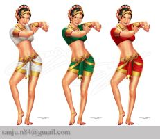 Indian Pinup by sanjun