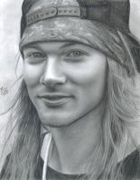 Axl Rose by LatinPrincess17