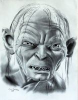 Gollum by donchild