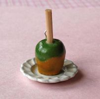 Caramel Apple Charm by FatallyFeminine