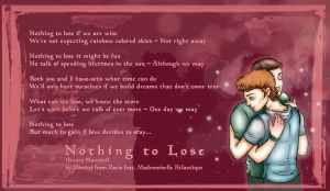 Nothing to Lose by andreshanti