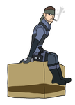 Solid Snake by thepontusandersson