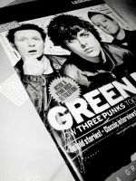 Green Day Kerrang by privatecomedy