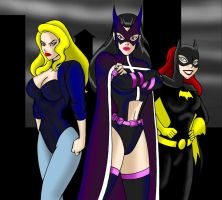 Birds of Prey - JLU by JosephB222