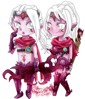 Chibi Varus Male+Female by Mitzuki-Maewen