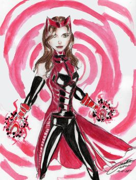 Scarlet Witch by CristianGarro