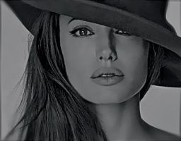 Angelina Jolie by Drawingallthetime247