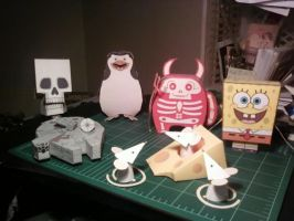 various papercrafts by SCroman