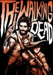 The Walking Dead by Paranoidvin