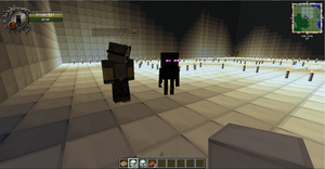 BABY ENDERMAN by Obsidianthewolf