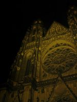 Cathedral At Night by FriendlyBlueberries