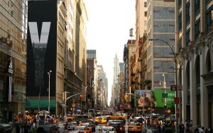 wallpaper NY by clavette33