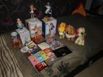...Things I've bought on Comic Con-GameX 2014... by Joakaha