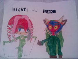 Light vs Dark by Ask-rikal-the-cat