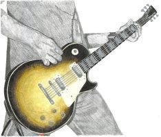 Gibson Guitar by MyLastDisguise