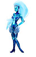 Zyra Rough (ice thorn) by Glory-Day