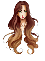 Hair practise/fun by DinaConcept