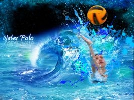 Water Polo Wallpaper by EpiclyAlice