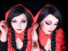 Little Red Riding Hood Makeup w/ Tutorial by KatieAlves