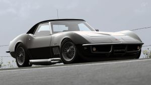1969 Chevy Corvette Stingray C3 Convertible (GT6) by Vertualissimo