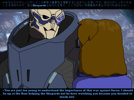 Mass Effect- Was Trying to Help by TheYUO