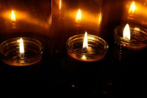 Dark Candles by hollin