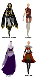 Outfits Adoptables by LadyLoriel