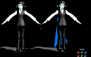 MMD Count Vlad by AmandaTaylor