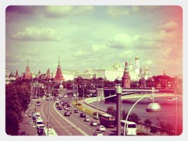 Moscow by Lina-Namalevich