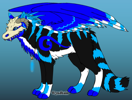 New Character: Blue With Mask by Shadowdannie