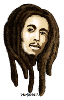 Bob Marley MS Paint by PainterBits