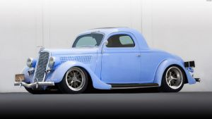 Ford Deluxe V8 Coupe '35 by HAYW1R3