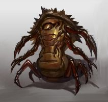 insect creature design by FunkyDoMo