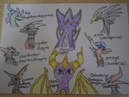 spyro and amazing dragons by spyroatwarfang