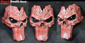 Blood Death Mask by Uratz-Studios