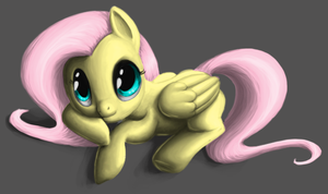 Fluttershy by LithDragon