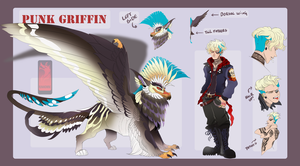 ADOPT Auction! - Punk Griffin [CLOSED] by runandwine