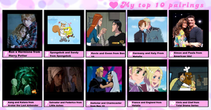 My Top Ten Couples of All Time by GoldenGirl954