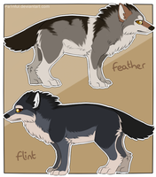 Feather and Flint by Vencentio