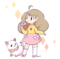 Bee And Puppycat by Milkii-Ways