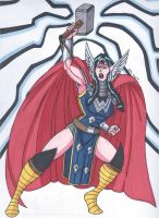 Wondor, Goddess of Thunder by RobertMacQuarrie1