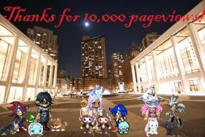 10,000 pageviews by MidnightPrime